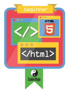 HTML Beginner CoderDojo Badge